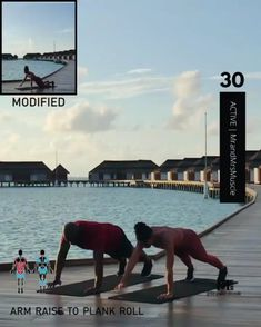 Add this HIIT exercise to your workout routine to burn calories. Fitness Workouts, Full Body Hiit Workout, Gym Workout Videos, Fitness Workout For Women, Yoga Fitness, At Home Workouts, Training Workouts, Fitness Style, Training Videos