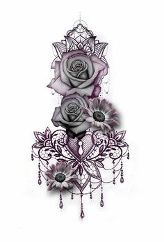 Biggest Tatto Gallery - But a skull and roses tat - Find Your Perfect Tatto Now Browse through over 7,500+ high quality unique tattoo designs from the world's best tattoo artists!