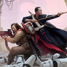 (*** http://BubbleCraze.org - New Android/iPhone game is wickedly addicting! ***) Chirrut Imwe and Baze Malbus