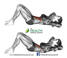 © Sasham | Dreamstime.com - Fitness exercising. Flexion of the trunk with the rise of the pelvis lying on the floor. Female
