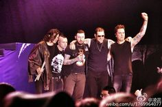 Avenged Sevenfold News: Photos of Avenged Sevenfold in Beijing, China