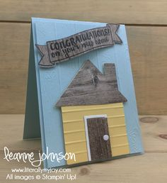 New Home | Stampin\' Up! | Home Life | In The City #literallymyjoy #newhome #neighborhood #neighbors #newplacetocallhome #house #20172018AnnualCatalog