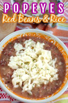 Easy Rice Recipes, Rice Recipes For Dinner, Bean Recipes, Copycat Recipes, Mexican Food Recipes, Easter Recipes, White Rice Recipes, Haitian Recipes, Donut Recipes