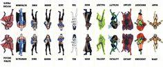 D.C. Villains Character Sheet 006