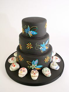 Día de los Muertos cake by Duff Goldman & the amazing crew of Charm City Cakes.
