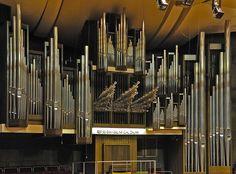 Organ at Gewandhaus in Leipzig, Germany