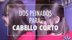 Peinados para cabello corto Fáciles!! #CatCort #Youtube #Vídeos #Peinados #Corto #CabelloCorto #Fácil