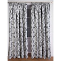 Habito Limited Edition Curtains Matrix Slate Super 220cm Drop - Promotional - Curtains - Curtains & Blinds - The Warehouse
