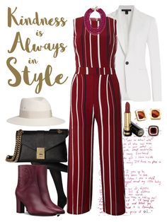 """Someday We'll Meet Tugging At Your Soul!!"" by nefertiti1373 on Polyvore featuring Ralph Lauren Black Label, Tenki, Sixtrees, BaubleBar, Gucci, Maison Michel, Calvin Klein, Effy Jewelry and Lele Sadoughi"