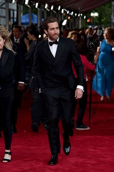 Jake Gyllenhaal attending the 2016 Tony Awards in New York City.