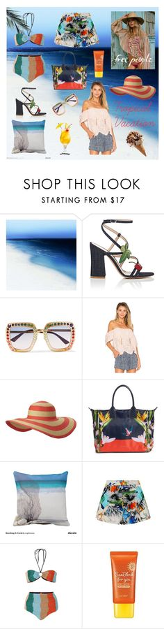 """""""Take Me Away Tropics"""" by orglioness on Polyvore featuring Barclay Butera, Gianvito Rossi, Gucci, Columbia, Ted Baker, Suboo, Missoni Mare, Lacvert and TropicalVacation"""
