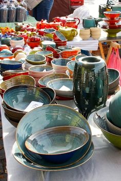 The Best of Prague: 8 things you MUST do - The Overseas Escape (bowls at the riverside Farmers Market)