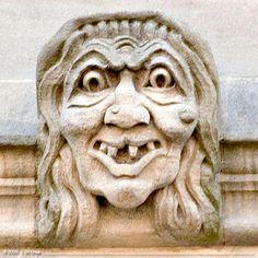 Oxford Gargoyles and Grotesques