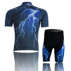 PianPian Outdoor Sports Mens Short Sleeve Cycling Jersey 3D Padded Short Set XXL -- To view further for this item, visit the image link.Note:It is affiliate link to Amazon.