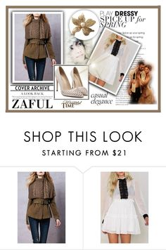 """""""87. zaful.com/?lkid=7538"""" by hetkateta ❤ liked on Polyvore featuring CHI, women's clothing, women, female, woman, misses and juniors"""