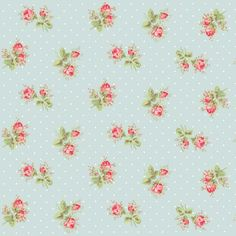 Cath Kidston blue floral vinyl tile by Harvey Maria.