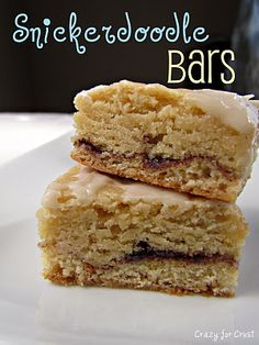 snicker doodle bars