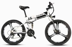 Cyrusher Folding Electric Bike XF700