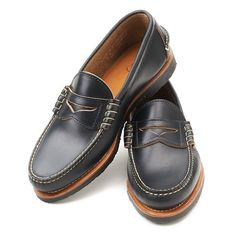 Rancourt Beefroll Penny Loafers LH - Made in Maine