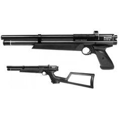 Crosman Benjamin Marauder pistol/rifle, 900 fps, 274 m/s, 8 round magazine, 5.5 mm (.22) PCP Air Gun.
