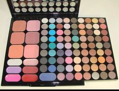 MPC Ultimate Combination 94 Colors Makeup Set Palette 80 Eye Shadows 6 Blushers 2 Powders and 6 Lip Colors $19.00