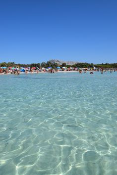 Cala Brandinchi beach, San Teodoro