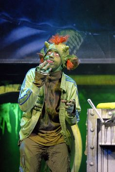 Fungus the Bogeyman by Pilot Theatre, via Flickr