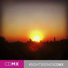 #CDMX #SightseeingsCDMX #Sunset