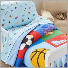 99+ toddler Bedding Sports - Ideas for Basement Bedrooms Check more at http://davidhyounglaw.com/55-toddler-bedding-sports-bedroom-wall-art-ideas/