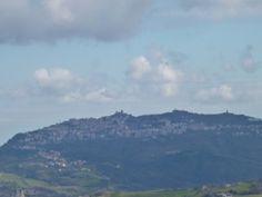 「San Marino」, Dalla Finestra di 「Castello San Leo」, San Leo, Le Marche, Italia