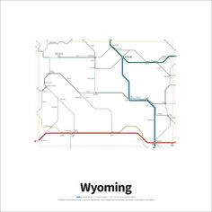A Simplified Road Map Of Every Interstate Highway And US Route - Us route 45 map