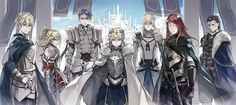 The King and her Knights in Camelot