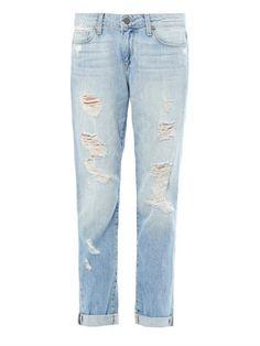 Jen's Pick! Tyler distressed boyfriend jeans | Paige Denim | MATCHESFASHIO...