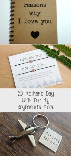 20 Mother's Day Gifts For My Boyfriend's Mom Handmade Gifts For Boyfriend, Gifts For Your Boyfriend, Gifts For Mom, Love You Boyfriend, Buy Candles, Wish Bracelets, Card Wallet, Mother Gifts, Anniversary Gifts