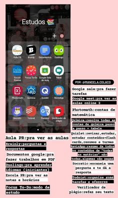 High School Hacks, Life Hacks For School, School Study Tips, Study Apps, Study Organization, Applis Photo, Bullet Journal School, Study Planner, Editing Apps