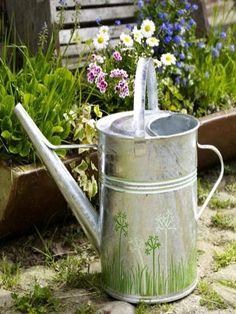 Aufbewahrung Gartengerate Ideen Alte Utensilien Wand Halter ... Aufbewahrung Gartengerate Ideen
