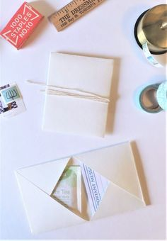 Ideas For Origami Envelope Mail Art Cute Envelopes, Paper Envelopes, Small Envelopes, Handmade Envelopes, How To Make Envelopes, Diy Cards And Envelopes, Making Envelopes, 3d Cards, Handmade Books