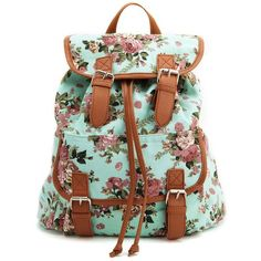 Floral Canvas Backpack and other apparel, accessories and trends. Browse and shop 8 related looks.
