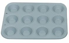 Fox Run Non-Stick Ribbed Tart/Muffin Pan by Fox Run. $11.99. Non-Stick material. 12 cup ribbed tart pan; each cup holds-1/4 cup. Pan dimension-13-3/4 Inch by 10-1/2 Inch. 5 year warranty. Perfect for individual tarts or cakes. The Fox Run Kitchen's Preferred non-stick was designed specifically for Fox Run.  This collection features our exclusive premium non-stick coating, which provides quick, easy release of baked goods.  These pieces are made of heavy gauge steel to p...