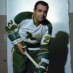 boivon Minnesota North Stars, Minnesota Wild, Wild North, Nhl Players, Hockey Teams, 1930s, Old School, Leo, Legends