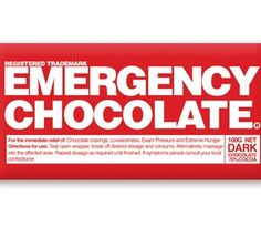 Bloomsberry: Emergency Chocolate Bar