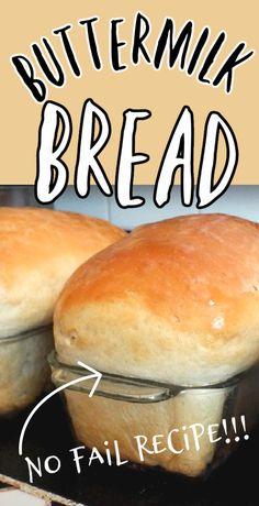 Honey Buttermilk Bread, Homemade Buttermilk, Homemade Breads, Honey Recipes, Baking Recipes, Bake Bread Recipes, Recipe For Bread, Bosch Bread Recipe, Sauces