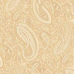 The Modern Gentleman pg 46 | MG33011 Modern Paisley Wallpaper | gold natural
