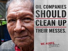 We agree: Oil companies should clean up their own messes!