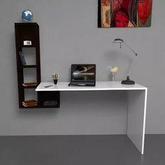 Escritorio Flotante - Biblioteca - Organizador - Moderno - $ 1.299,00