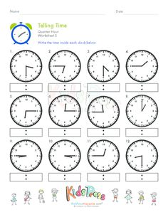 4 Worksheets What Time is It Telling Time Half Hour Worksheet 3 √ Worksheets What Time is It . 4 Worksheets What Time is It. Calculate Elapsed Time Using Elapsed Time Ruler – Quarter Clock Worksheets, Printable Math Worksheets, Preschool Worksheets, Math Clock, Learn To Tell Time, Time To The Hour, Math Words, Teaching Time, Math For Kids