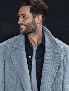 Take Cover: 9 Elegant Men's Coats: Perfect Wardrobe