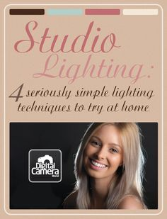 studio lighting-4-seriously-simple-lighting-techniques-to-try-at-home