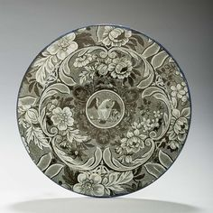 ARMS OF THE UNITED STATES,' STAFFORDSHIRE BLACK TRANSFER-PRINTED PLATE, UNKNOWN MAKER, EARLY NINETEENTH CENTURY.