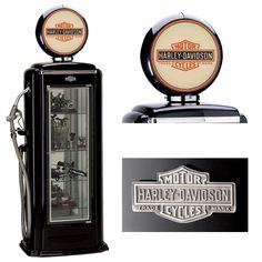 Harley-Davidson® Premium Gas Pump Display Case (Black) http://www.bikerathome.com/index.php/speciality/display-cases/harley-davidson-premium-gas-pump-display-case-black.html